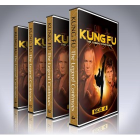 Kung Fu: The Legend Continues DVD - Seasons 1 to 4 - Complete - Carradine