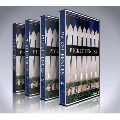 Picket Fences DVD - Seasons 1 to 4 - Complete TV Show