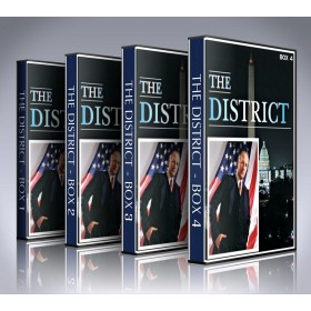 The District DVD Box Set - All 4 Seasons - Every Episode