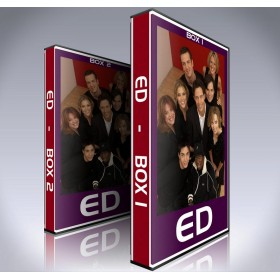 Ed DVD - Seasons 1 to 4 - Complete Tom Cavanagh TV Show