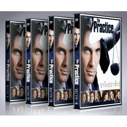 The Practice DVD Box Set - Complete Seasons 1-8