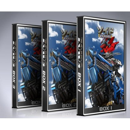 Zoids DVD Box Set - Complete Anime