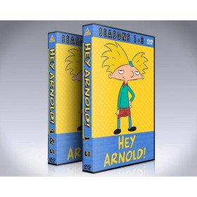 Hey Arnold DVD Box Set - Seasons 1 - 5