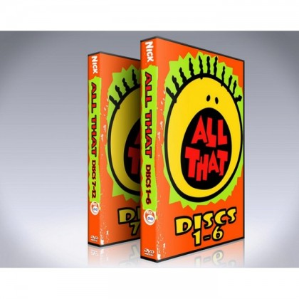 All That DVD Box Set - Seasons 1 - 7 - Nick