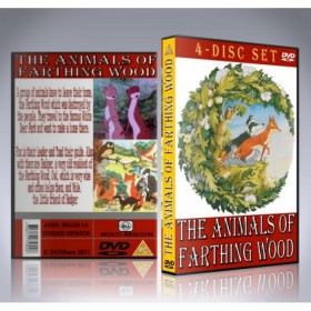 Animals Of Farthing Wood DVD - Complete 4 Disc Set