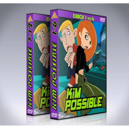 Kim Possible DVD Box Set - Seasons 1-4