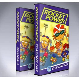 Rocket Power DVD - Every Episode - All 3 Seasons