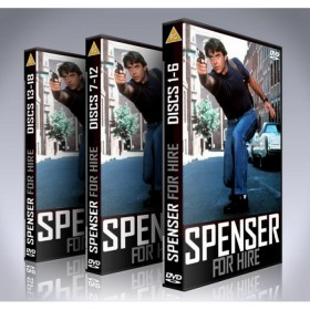 Spenser For Hire DVD Box Set - Complete - Robert Urich